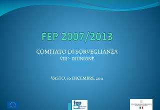 FEP 2007/2013