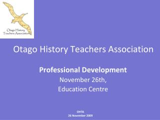 Otago History Teachers Association