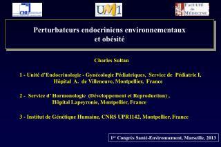 Perturbateurs endocriniens environnementaux et obésité