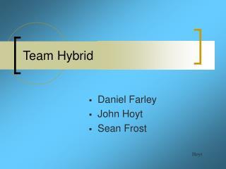 Team Hybrid