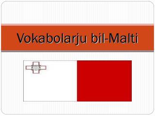 Vokabolarju bil-Malti
