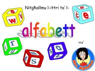 alfabett
