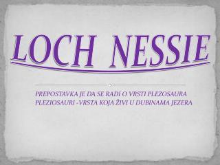LOCH  NESSIE