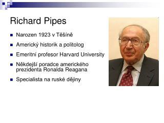 Richard Pipes