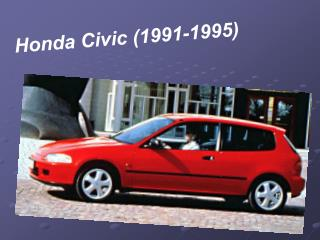 Honda Civic (1991-1995)
