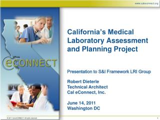 California's Medical Laboratory Assessment and Planning Project