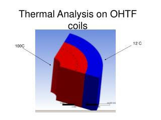 Thermal Analysis on OHTF coils