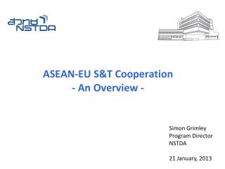 ASEAN-EU S&T Cooperation - An Overview -