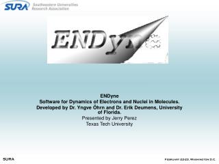 ENDyne Software for Dynamics of Electrons and Nuclei in Molecules.