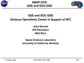 RBSP EFW GSE and SOC-GSE