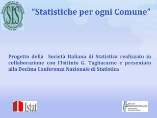"""""""Statistiche per ogni Comune"""""""