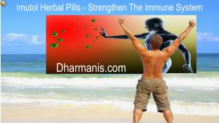 Imutol Herbal Pills - Strengthen The Immune System