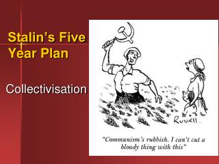 Stalin's Five Year Plan