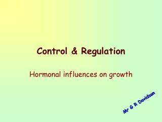 Control  Regulation