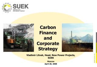 Carbon Finance and Corporate Strategy