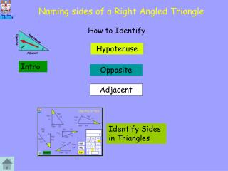 Naming sides of a Right Angled Triangle