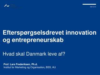 Efterspørgselsdrevet innovation og entrepreneurskab Hvad skal Danmark leve af?
