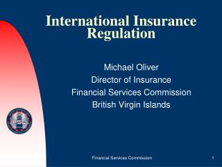 International Insurance Regulation