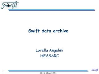 Swift data archive