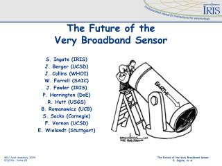 The Future of the  Very Broadband Sensor