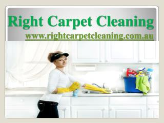 Right Carpet Cleaning