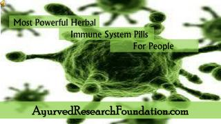 Most Powerful Herbal Immune System Pills For People