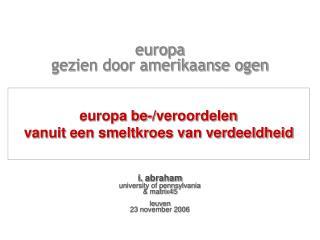 europa  gezien door amerikaanse ogen