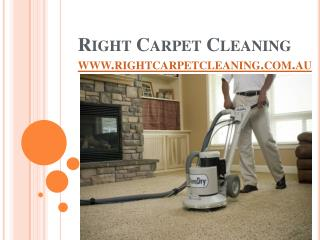 Right Carpet Cleaning Company