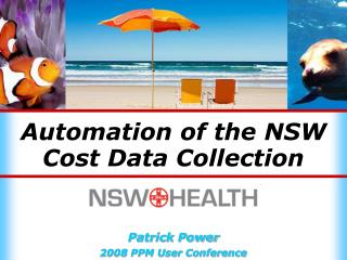 Automation of the NSW Cost Data Collection