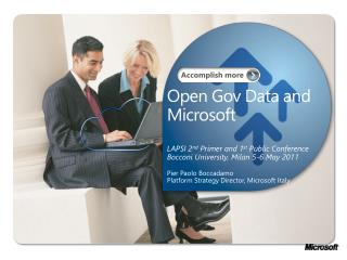 Open  Gov  Data and Microsoft