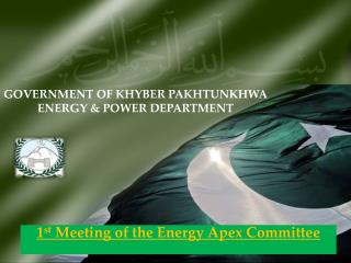 GOVERNMENT OF KHYBER PAKHTUNKHWA    ENERGY & POWER DEPARTMENT