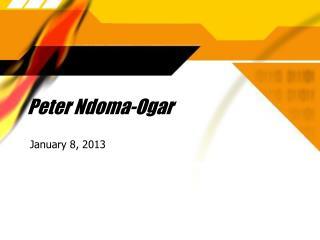 Peter Ndoma-Ogar