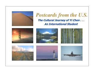 Postcards from the U.S.