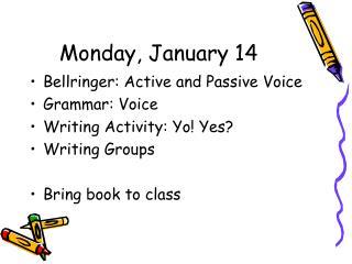Monday, January 14