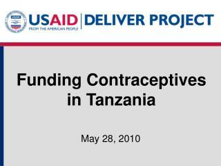 Funding Contraceptives in Tanzania
