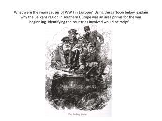 Cartoon Essay AmStds WW I