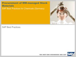 Procurement of WM-managed Stock Materials  SAP Best Practices for Chemicals (Germany)