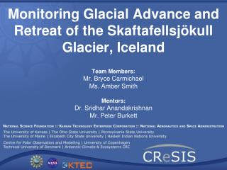 Monitoring Glacial Advance and Retreat of the Skaftafellsjökull Glacier, Iceland
