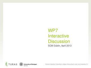 WP7  Interactive  Discussion