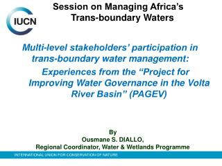 Multi-level stakeholders' participation in trans-boundary water management:
