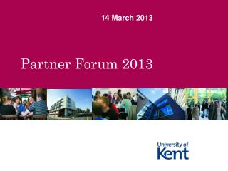 Partner Forum 2013