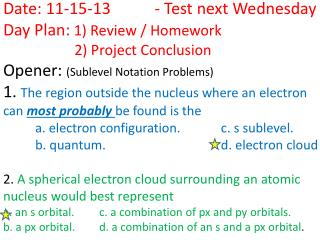 Summing up Electron Configuration What is it :
