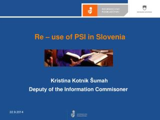 Re – use of PSI  in Slovenia
