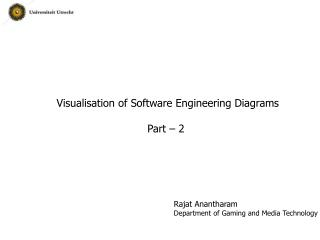Visualisation of Software Engineering Diagrams Part – 2