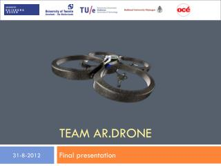 Team AR. drone