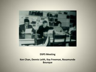 DSPS Meeting