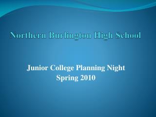 Northern Burlington High School