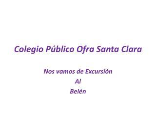 Colegio Público Ofra Santa Clara