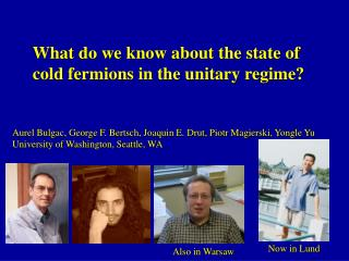 What do we know about the state of  cold fermions in the unitary regime?