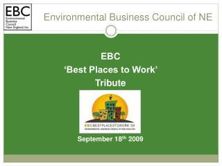 Environmental Business Council of NE